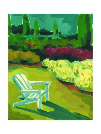 Adirondack Chair in Garden