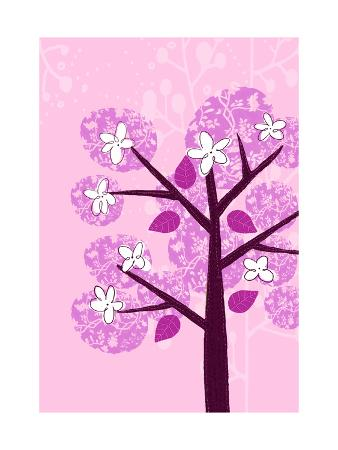 Flowering Patchwork Tree