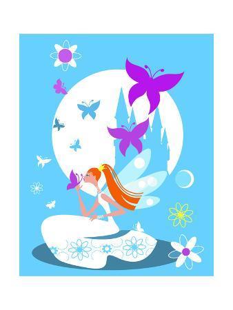 Fairy Princess with Castle