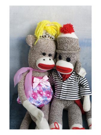 Sock Monkey Couple