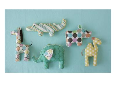 Fabric Baby Animal Toys