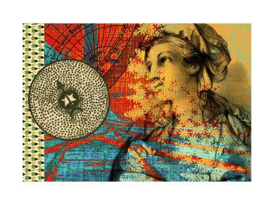 Collage with Compass