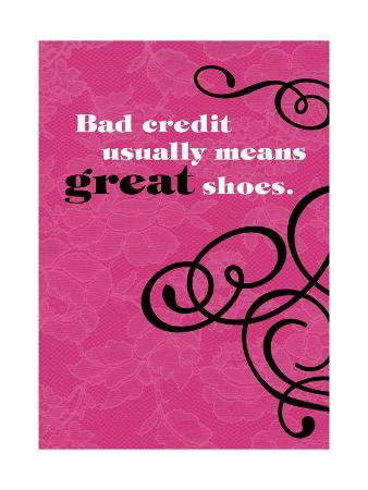 Bad Credit, Great Shoes