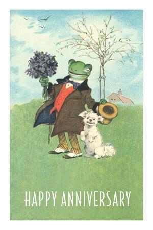 Froggie Went A'Courting, Happy Anniversary