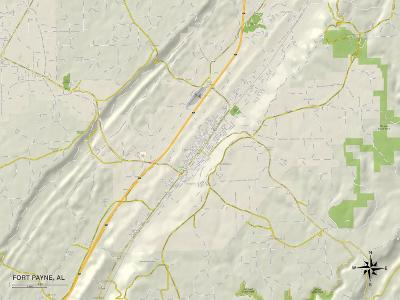 Political Map of Fort Payne, AL