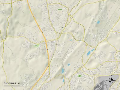 Political Map of Fultondale, AL