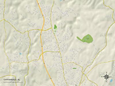 Political Map of Gardendale, AL