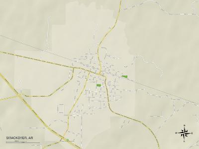 Political Map of Smackover, AR