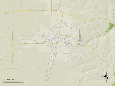 Political Map of Wynne, AR