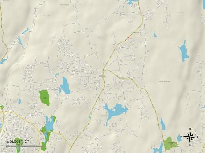 Political Map of Wolcott, CT
