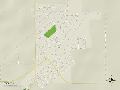 Political Map of Zeigler, IL