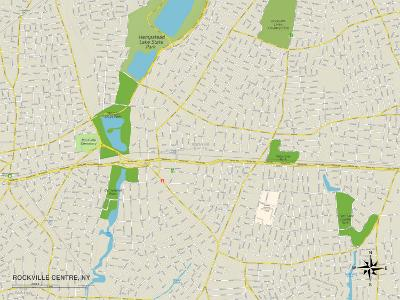 Political Map of Rockville Centre, NY
