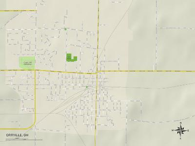 Political Map of Orrville, OH