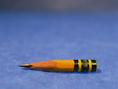 Close-Up of a Pencil Nub