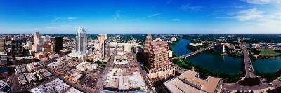 360 Degree View of a City, Austin, Travis County, Texas, USA