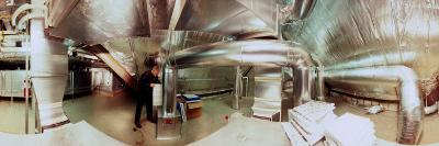360 Degree View of an Industrial Duct Work