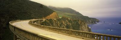 Bridge at the Coast, Bixby Bridge, Big Sur, Monterey County, California, USA