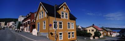 Buildings at the Roadside, Harstad, Troms, Nord-Norge, Norway