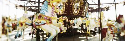 Close-Up of Carousel Horses, Coney Island, Brooklyn, New York City, New York State, USA