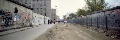 Historic Photo of Graffiti on Berlin Wall, Days after Unification, Berlin, Germany