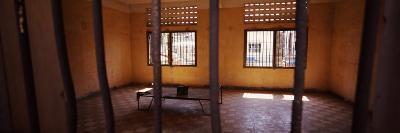 Interiors of a Prison Cell, S-21, Phnom Penh, Cambodia
