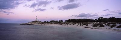 Lighthouse at Waterfront, Bathurst Lighthouse, Pinky's Beach, Rottnest Island, Western Australia