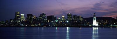Sea with Buildings in the Background, Montreal, Quebec, Canada