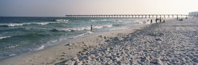 Tourists on the Beach, Pensacola Beach, Escambia County, Florida, USA