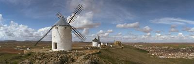Traditional Windmill on a Hill, Consuegra, Toledo, Castilla La Mancha, Toledo Province, Spain