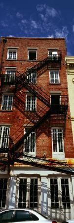 Fire Escapes on Building, Coyote Ugly Saloon, French Market, French Quarter, New Orleans, Louisiana