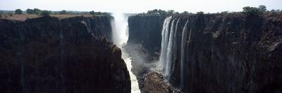 Waterfall, Victoria Falls, Zambezi River, Zimbabwe