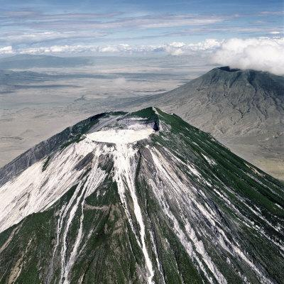 Ol Doinyo Lengai, the Maasai's Mountain of God, the Only Active Volcano in Gregory Rift, Tanzania