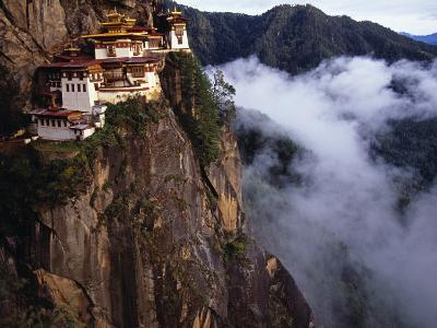 Literally Meaning Tiger's Nest, Taktsang, Built around Cave in Which Guru Padmasambava Meditated