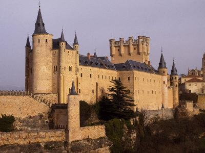 Segovia's Alcazar, or Fortified Palace, Originally Dates from the 14th and 15th Centuries