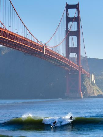 California, San Francisco, Golden Gate Bridge, USA