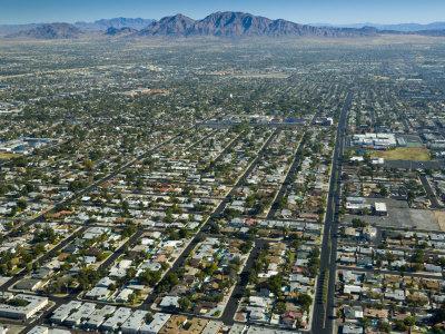 Nevada, Las Vegas, Suburbia, USA