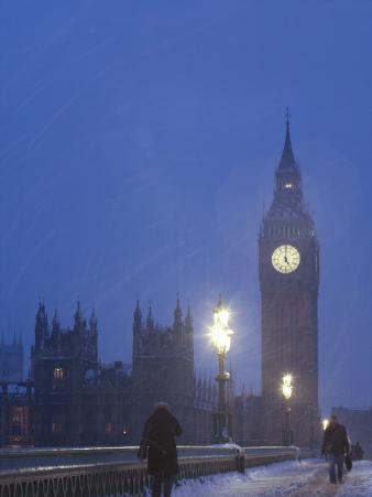 Big Ben, House of Parliament, London, England, UK