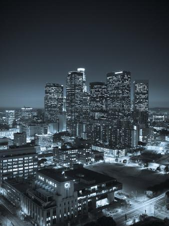 California, Los Angeles, Skyline of Downtown Los Angeles, USA