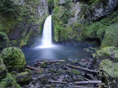 Oregon, Columbia River Gorge, Waclella Falls, USA