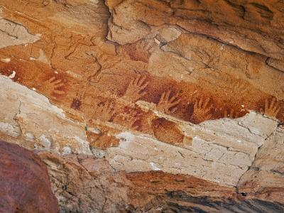 Northern Territory, Ancient Aboriginal Art of the Aranda People at Wallace Rockhole, Australia