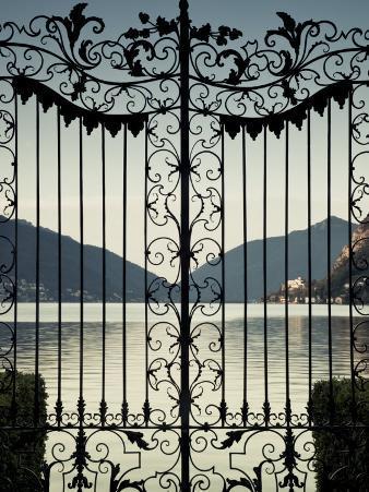 Ticino, Lake Lugano, Lugano, Parco Civico Gate Lake View, Switzerland