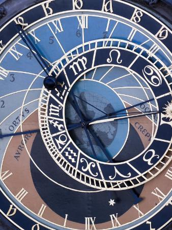Astronomical Clock, Old Town Hall, Old Town Square, Prague, Czech Republic