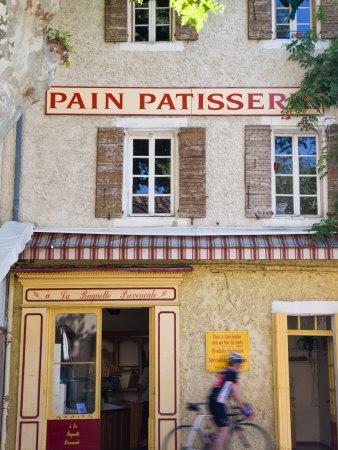 Patisserie, Villes-S-Auzon, Vaucluse, Provence, France