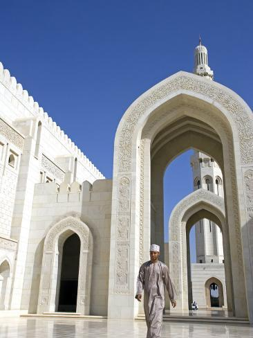 Muscat The Grand Mosquea Is A Magnificent Example Of Modern Islamic Architecture Oman