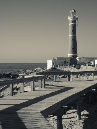 Faro Jose Ignacio, Atlantic Ocean Resort Town, Village Lighthouse, Uruguay