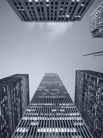 New York City, Manhattan, Skyscrapers Along Sixth Avenue, USA