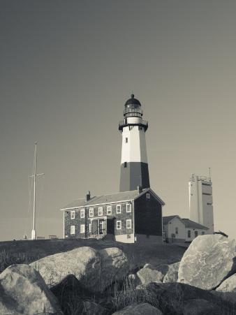 New York, Long Island, Montauk, Montauk Point Lighthouse, USA