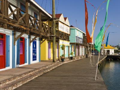 Antigua, Heritage Quay Shopping District in St, John's, Caribbean