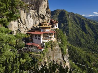 Taktsang Dzong or Tiger's Nest, Built in the 8th Century, Paro, Bhutan
