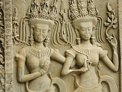 Siem Reap, Ankor Wat, the Famous Temple of Angkor Wat, Cambodia